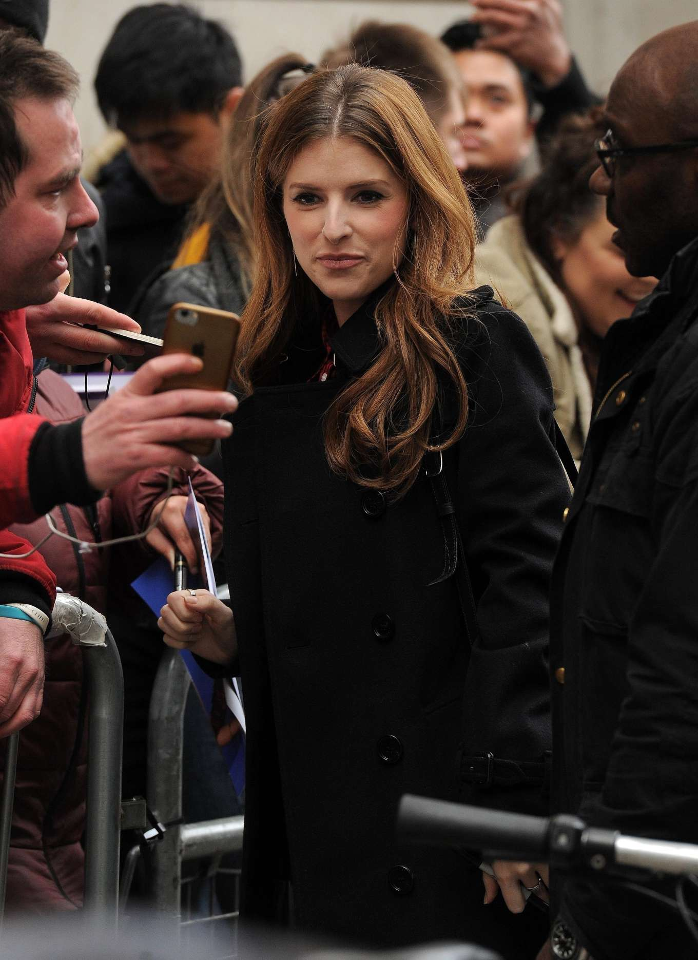 Anna Kendrick - Is seen outside BBC Radio 2 in London
