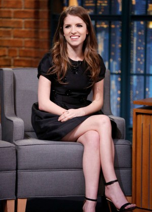 Anna Kendrick - Late Show with Seth Meyers