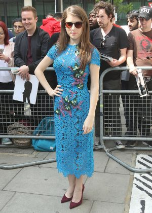 Anna Kendrick - Leaving BBC Radio Studios in London