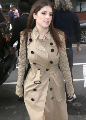 Anna Kendrick - Leaving The Today Show in New York City