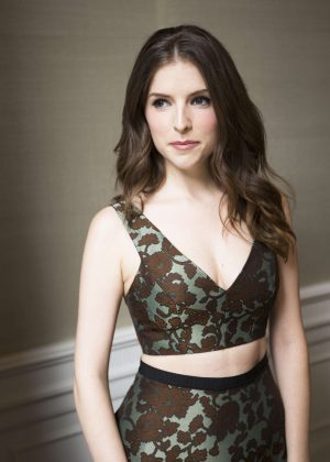 Anna Kendrick - 'Mike & Dave Need Wedding Dates' Press Conference Portraits in LA