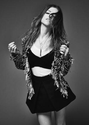 Anna Kendrick - Nylon Magazine (February 2015) adds