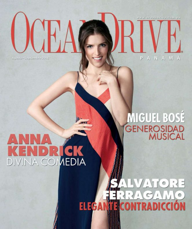 Anna Kendrick - Ocean Drive Panama (August - September 2016)