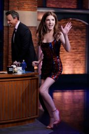 Anna Kendrick - On 'Late Night with Seth Meyers' in New York City