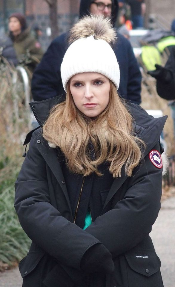Anna Kendrick - On the set of HBO's 'Love Life' in NY