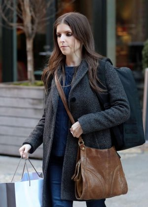Anna Kendrick out and about in New York City