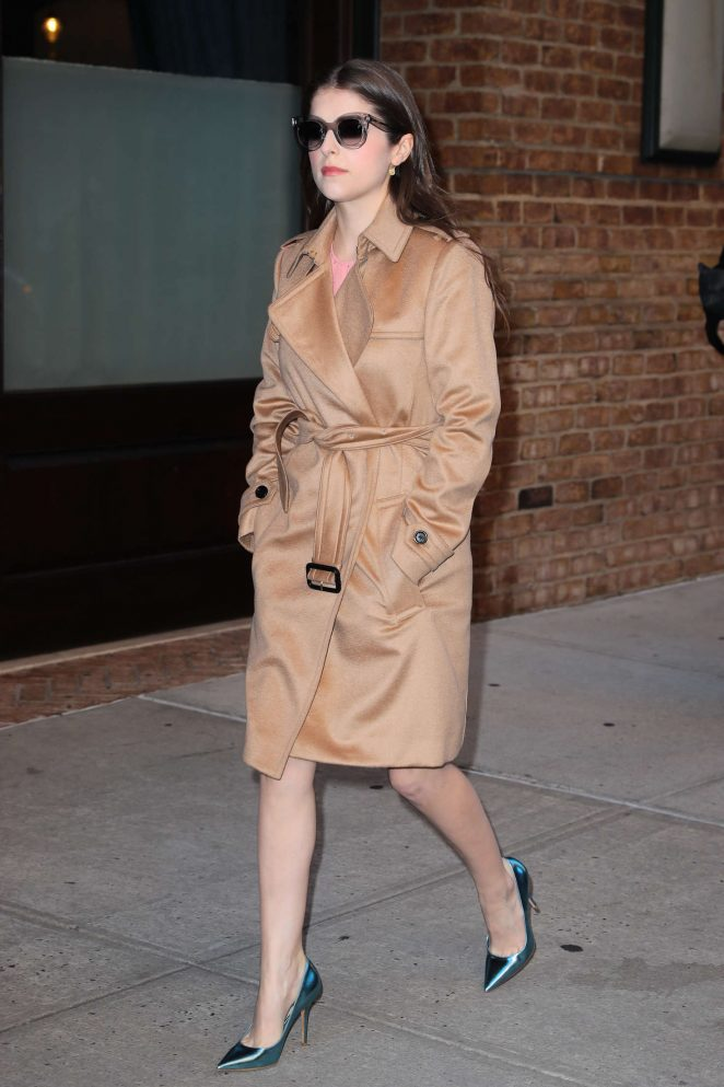 Anna Kendrick - Out And About in New York City