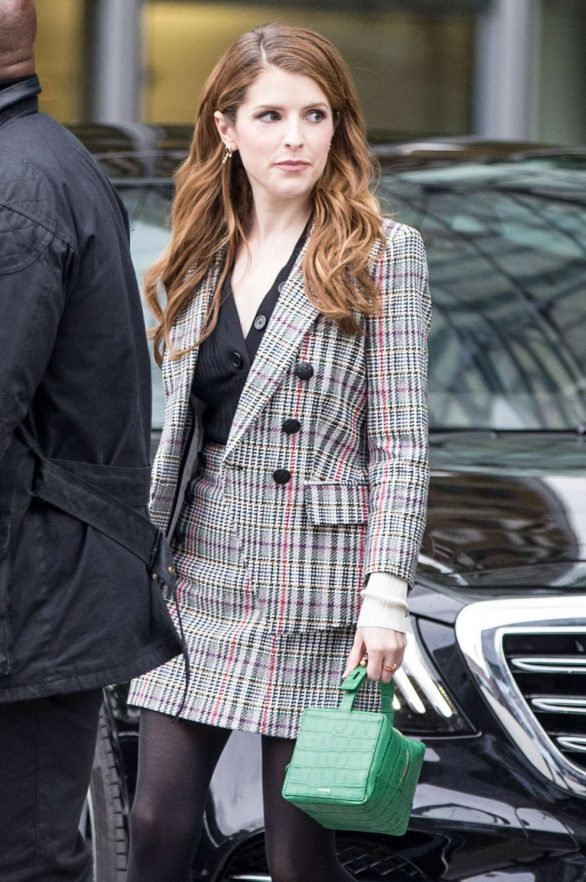 Anna Kendrick - out in Berlin