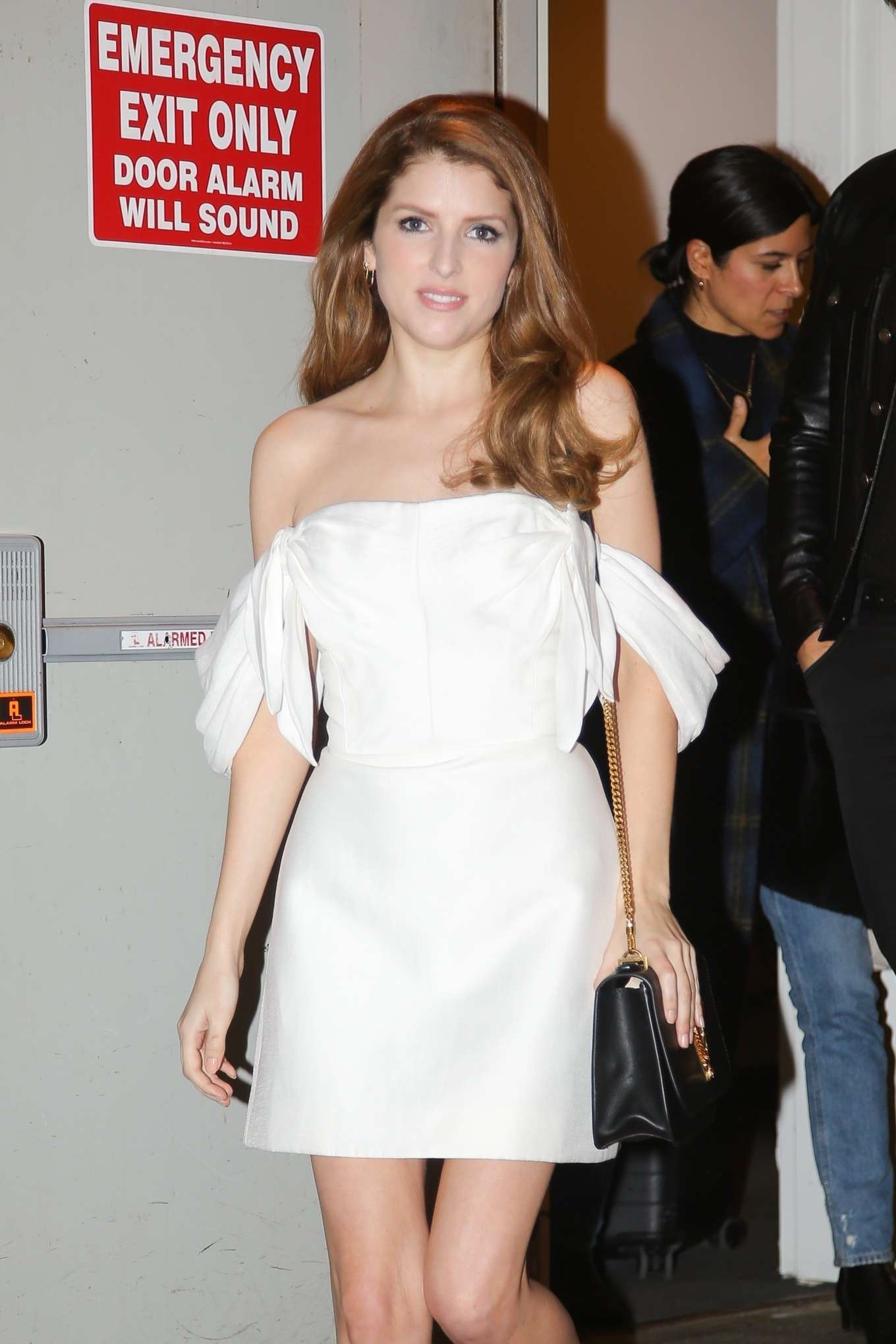 Anna Kendrick - Outside 'The Daily Show with Trevor Noah' in NYC