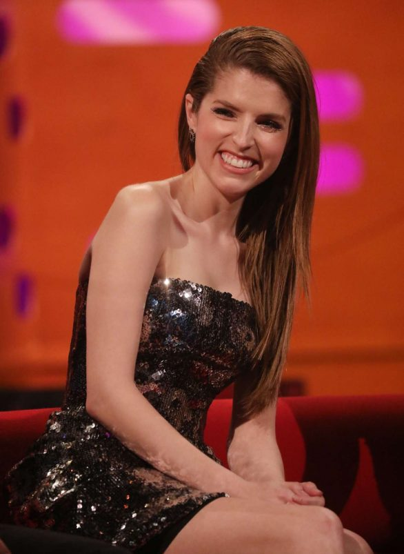 Anna Kendrick - Pictured on 'The Graham Norton Show' in London