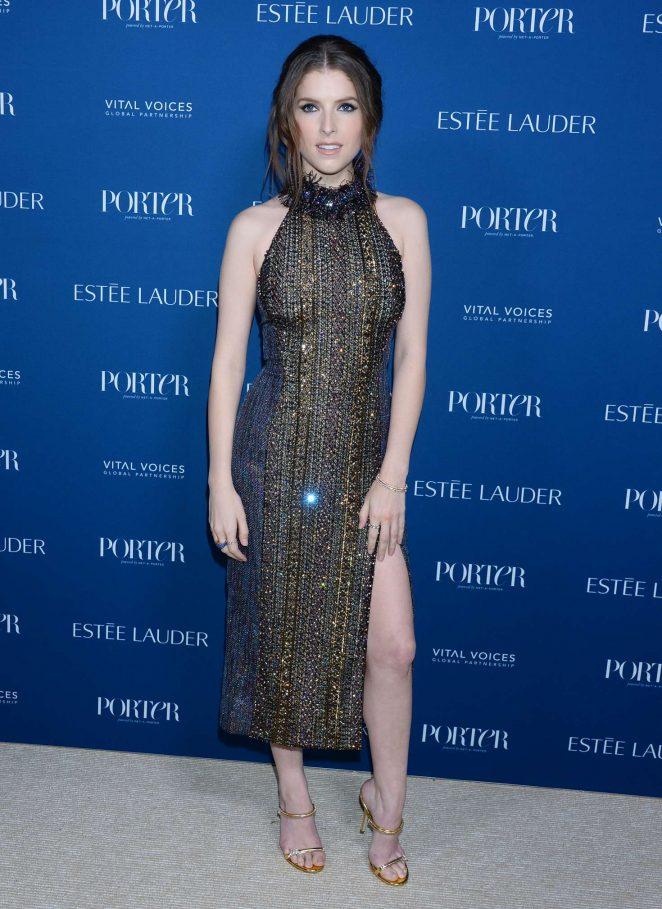 Anna Kendrick 2018 : Anna Kendrick: Porters 3rd Annual Incredible Women Gala -04
