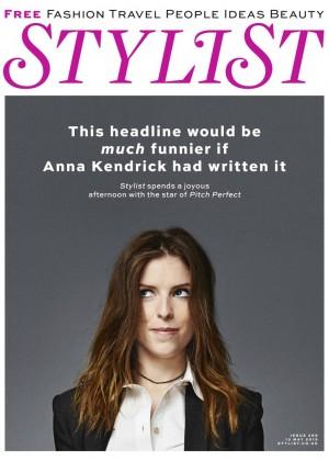 Anna Kendrick - STYLIST Magazine (May 2015)