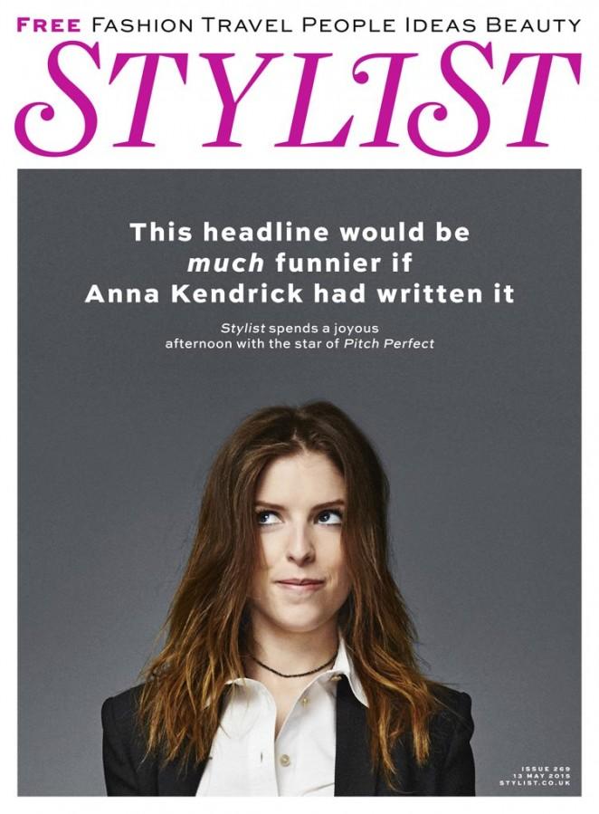 Anna Kendrick – STYLIST Magazine (May 2015)