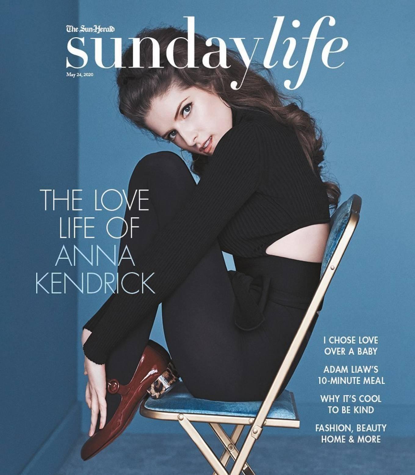 Anna Kendrick - Sunday Life Magazine (May 2020)