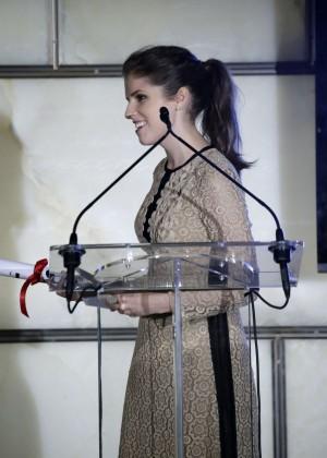 Anna Kendrick - The Daily Front Row Third Annual Fashion Media Awards in NY