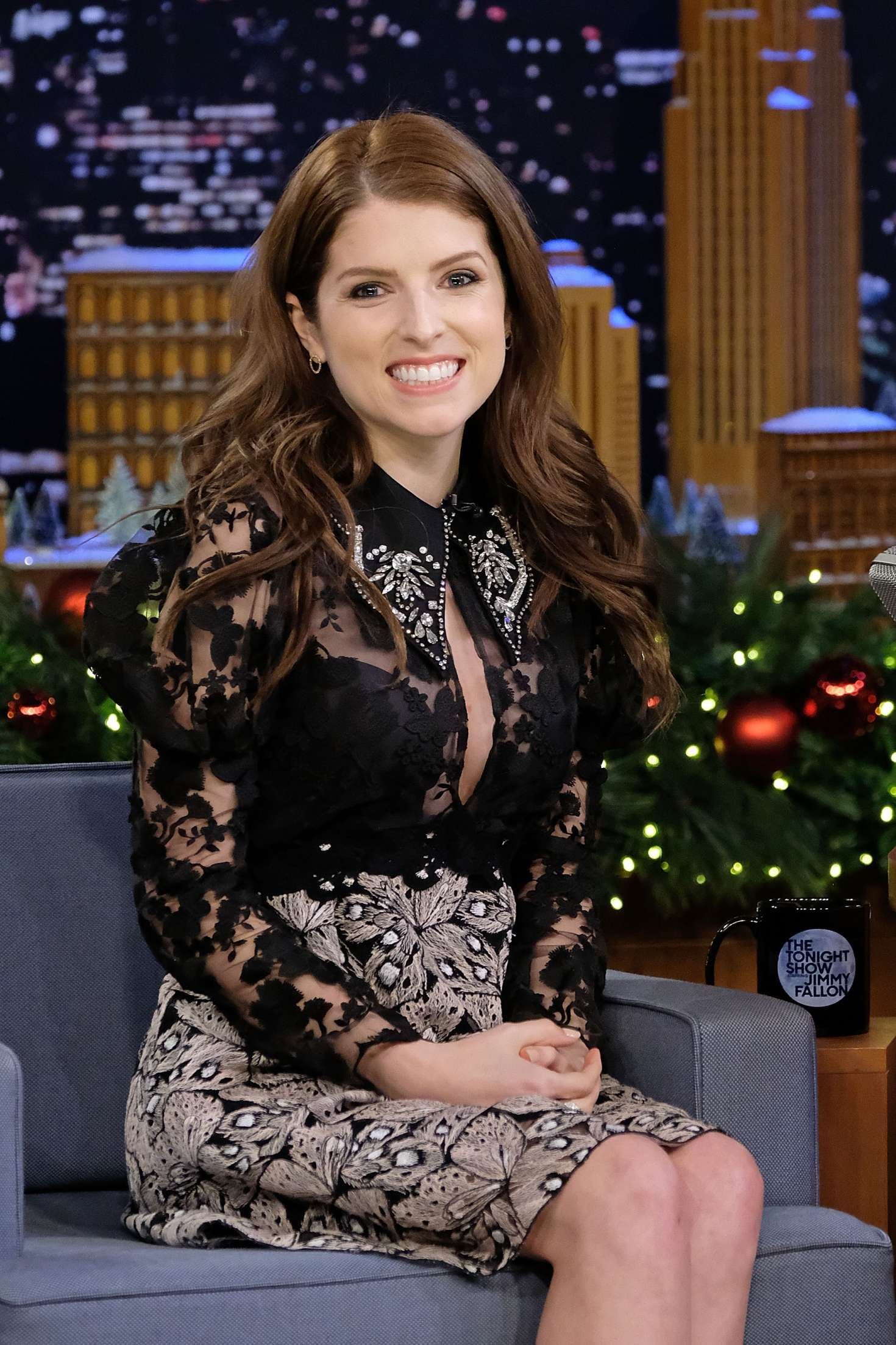 Anna Kendrick The Tonight Show Starring Jimmy Fallon In New York City Gotceleb