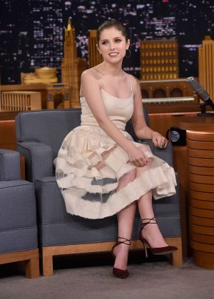 Anna Kendrick - 'The Tonight Show with Jimmy Fallon' in New York
