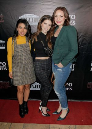 Anna Kendrick - 'The Unauthorized Parody Of Stranger Things' at Rockwell Table and Stage in LA