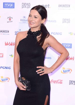 Anna Lewandowska - 82th Gala Polish Sportsman of the year in Warsaw