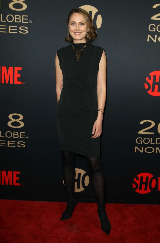 Anna Madeley 2018 : Anna Madeley: 2018 Showtime Golden Globe Nominees Celebration -07