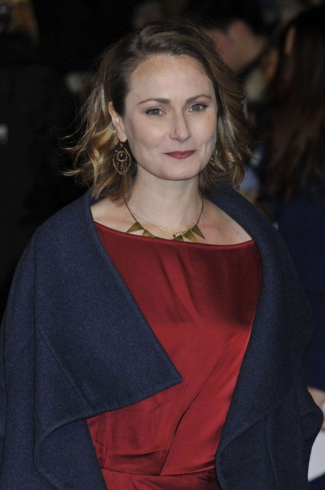 Anna Madeley - 'The Mercy' Premiere in London