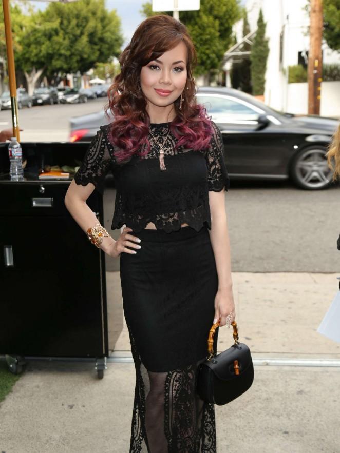 Anna Maria Perez De Tagle out in Los Angeles