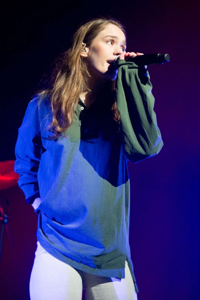 Anna of The North - Performs at the O2 Academy Brixton in London