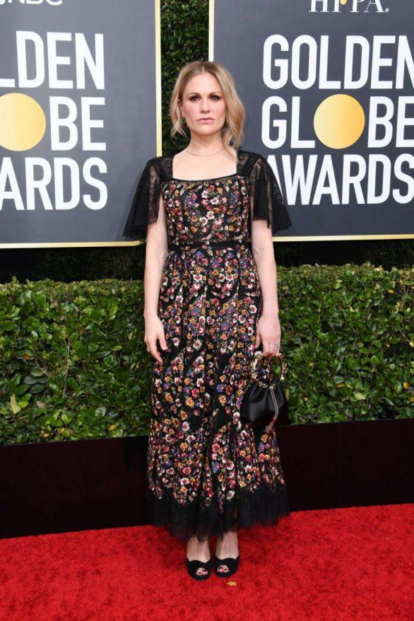Anna Paquin - 2020 Golden Globe Awards in Beverly Hills