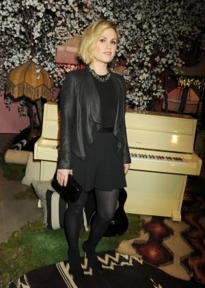 Anna Paquin - Alice + Olivia Fashion Show 2016 in Los Angeles