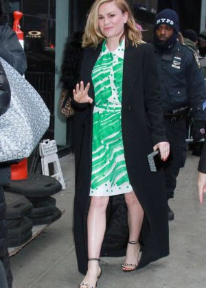 Anna Paquin at Good Morning America in New York City