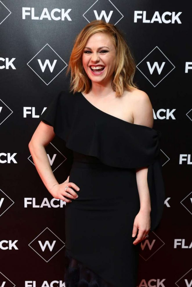 Anna Paquin – 'Flack' Premiere in London