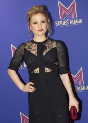 Anna Paquin - 'FLACK' talk during Series Mania Festival in Lille