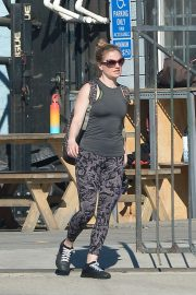 Anna Paquin - Leaving a workout session in Los Angeles