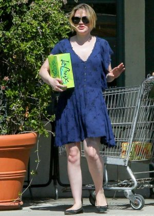 Anna Paquin out shopping in Santa Barbara