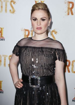 Anna Paquin – 'Roots' TV series Premiere in New York