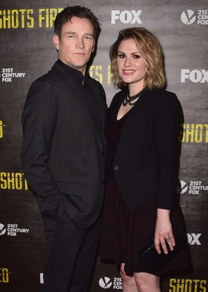 Anna Paquin - 'Shots Fired' TV Series Premiere in Los Angeles