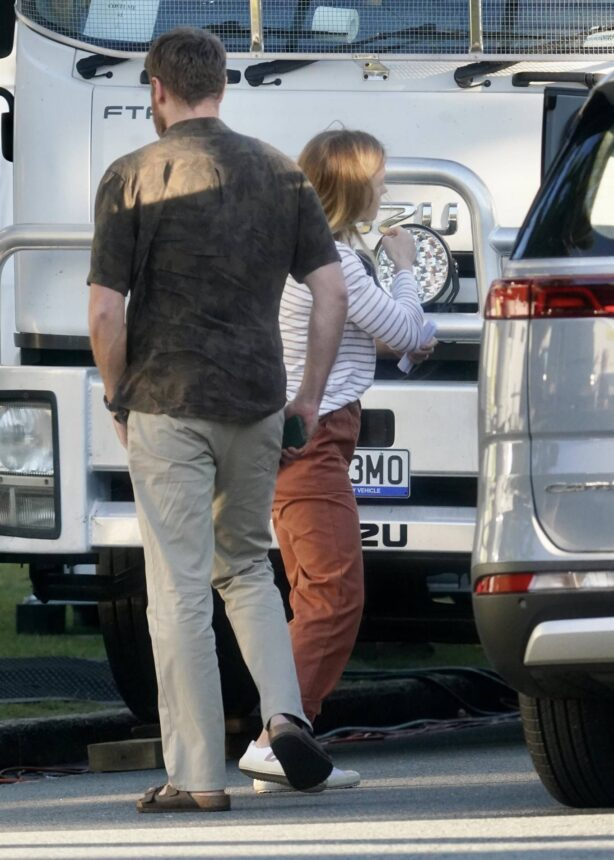 Anna Paquin - Spotted on the Gold Coast