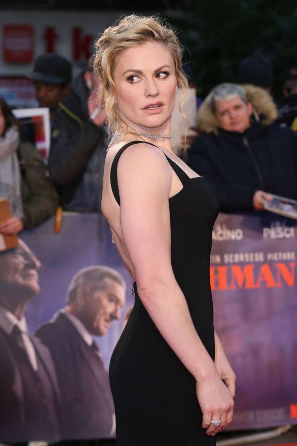 Anna Paquin - 'The Irishman' Premiere - 2019 BFI London Film Festival