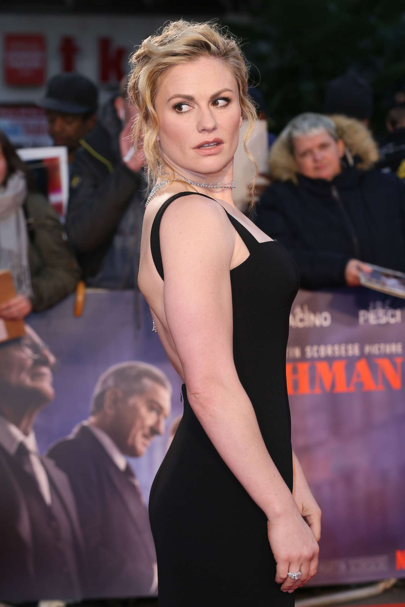 Anna Paquin - 'The Irishman' Premiere - 2019 BFI London Film Festival
