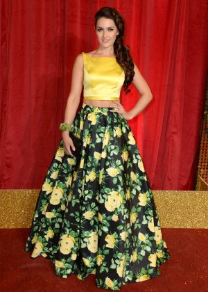 Anna Passey - British Soap Awards 2016 in London
