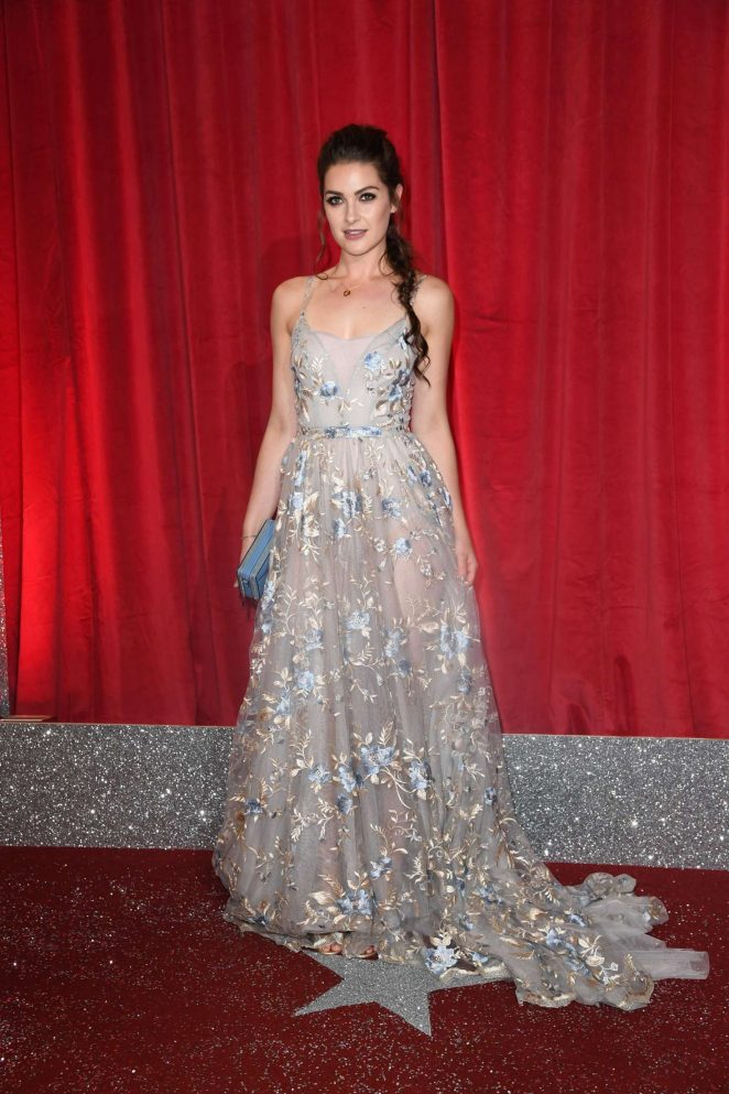 Anna Passey - British Soap Awards 2017 in Manchester