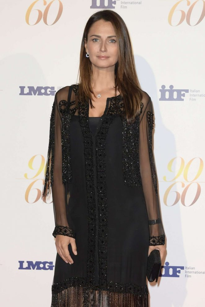 Anna Safroncik - Big party for double bithday of producer Fulvio Lucisano in Rome