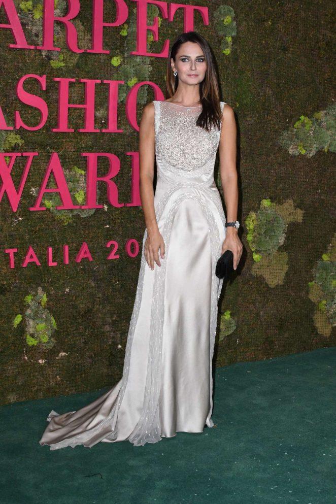 Anna Safroncik – Green Carpet Fashion Awards 2018 in Milan