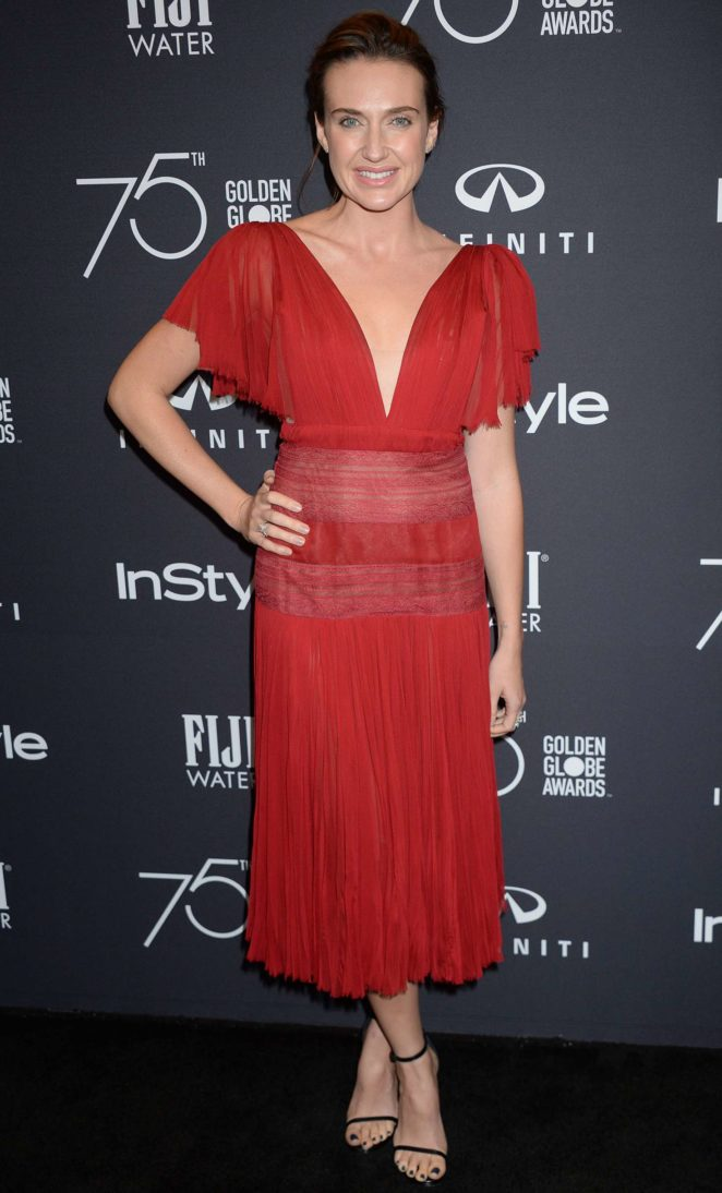 Anna Schafer - 2017 HFPA and InStyle Golden Globe Season in LA