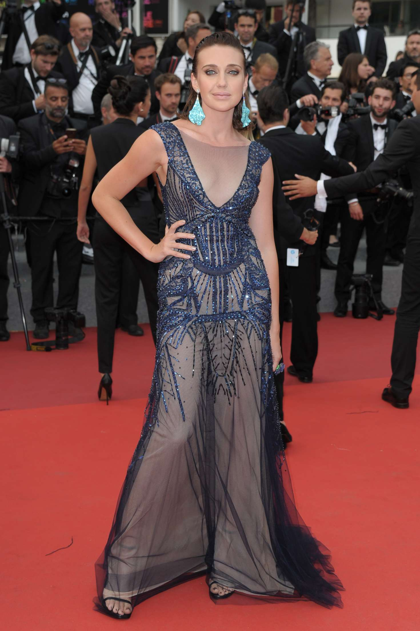 Anna Schafer 2017 : Anna Schafer: The Double Lover Premiere at 70th Cannes Film Festival -04