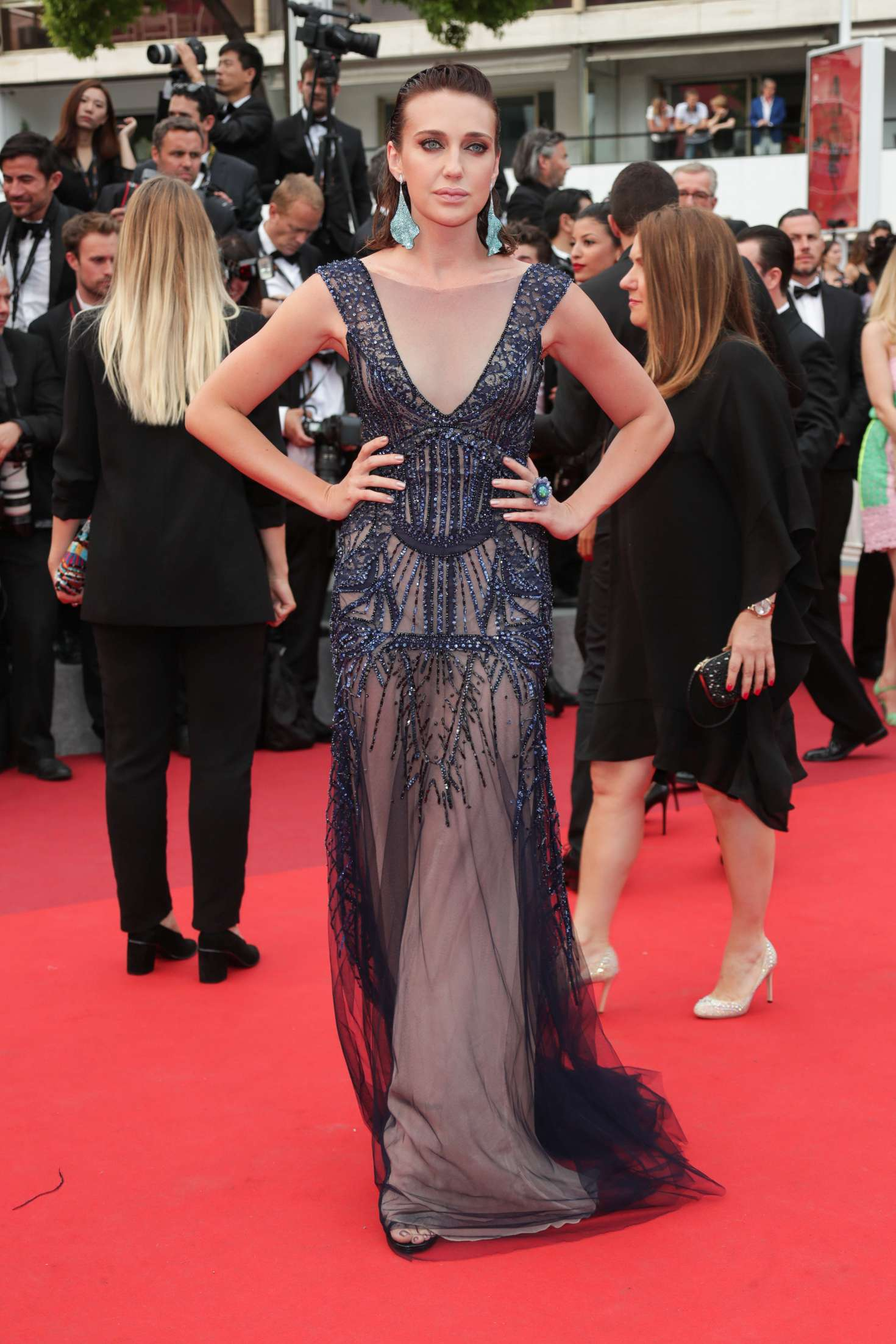 Anna Schafer 2017 : Anna Schafer: The Double Lover Premiere at 70th Cannes Film Festival -05