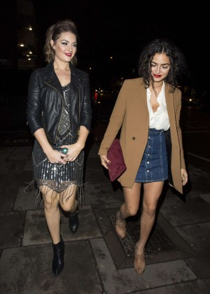 Anna Shaffer and Anna Passey - GavAid Quiz Night in London