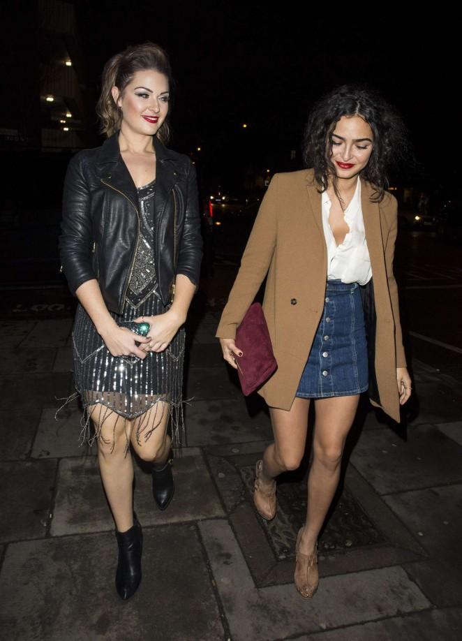 Anna Shaffer and Anna Passey - GavAid Quiz Night in London