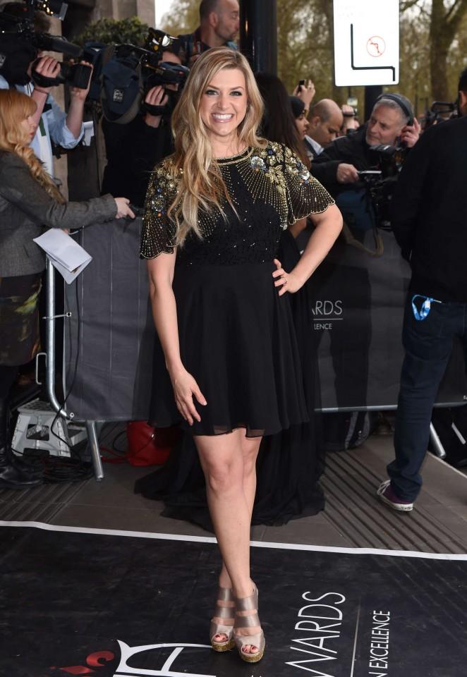 Anna Williamson - Asian Awards 2015 in London
