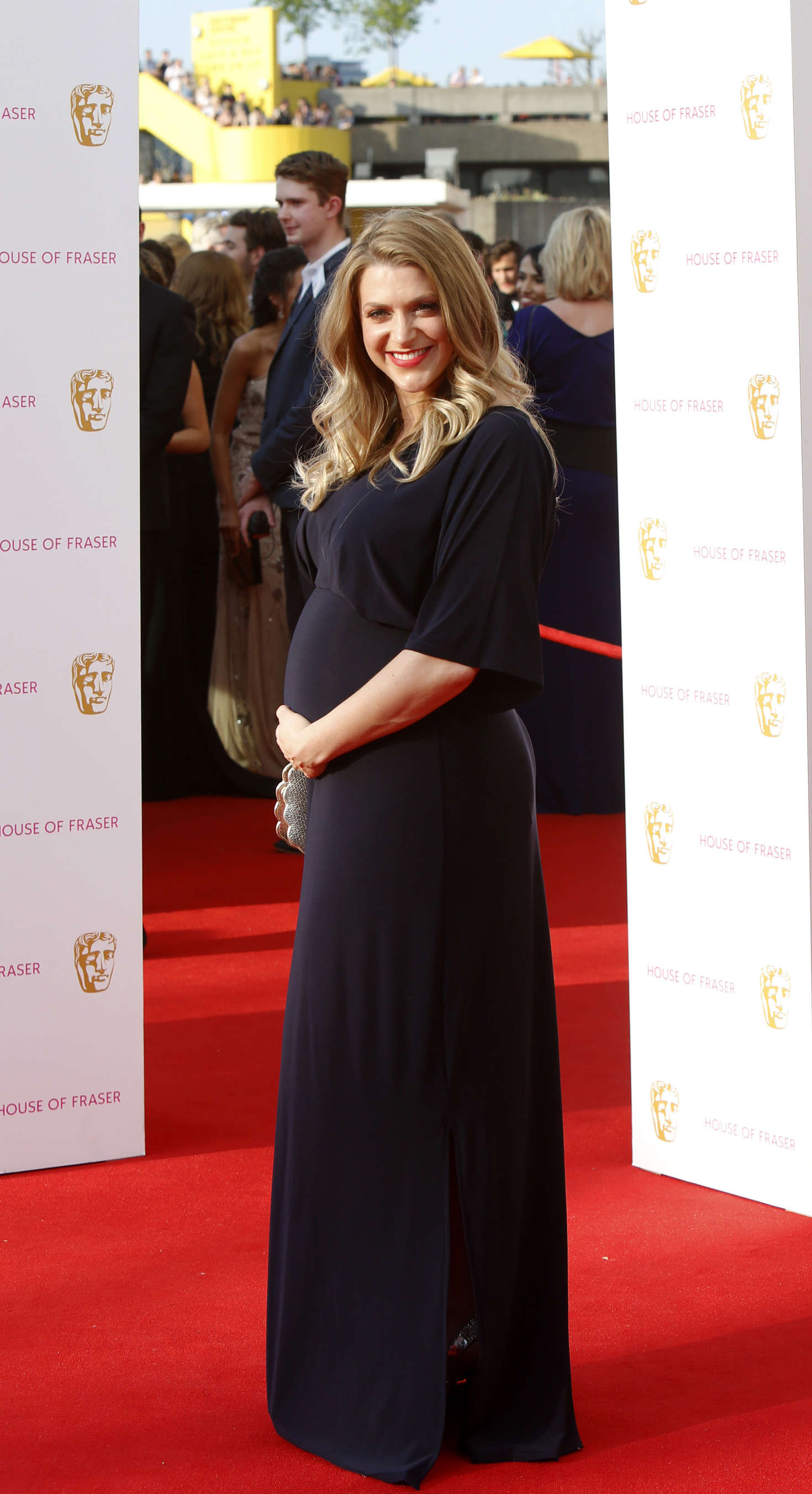 Anna Williamson 2016 : Anna Williamson: BAFTA TV Awards 2016 -01